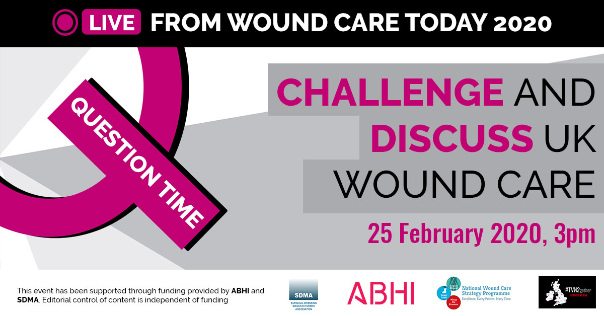 Challenge and discuss UK wound care
