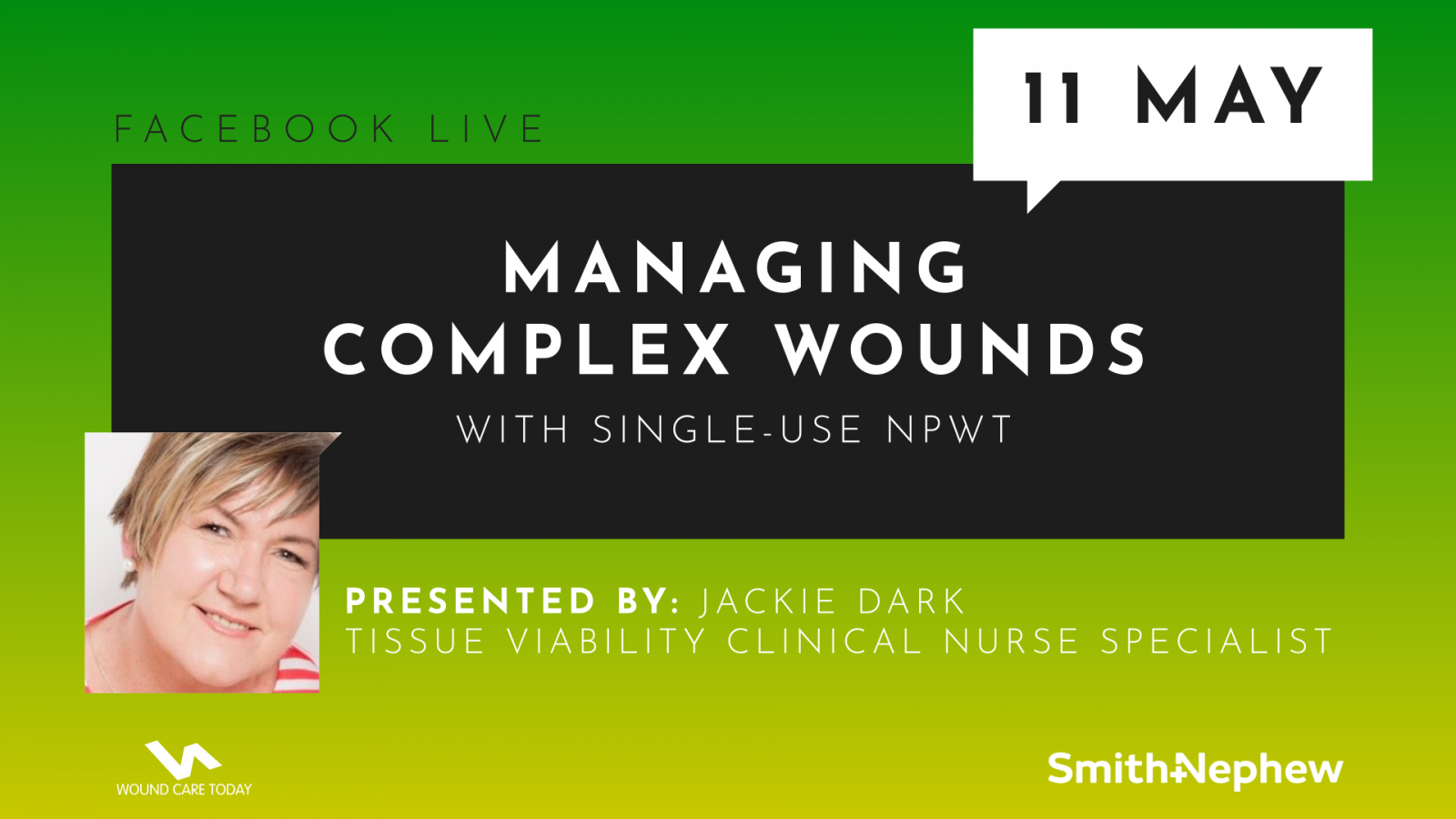 Managing complex wounds with single-use NPWT