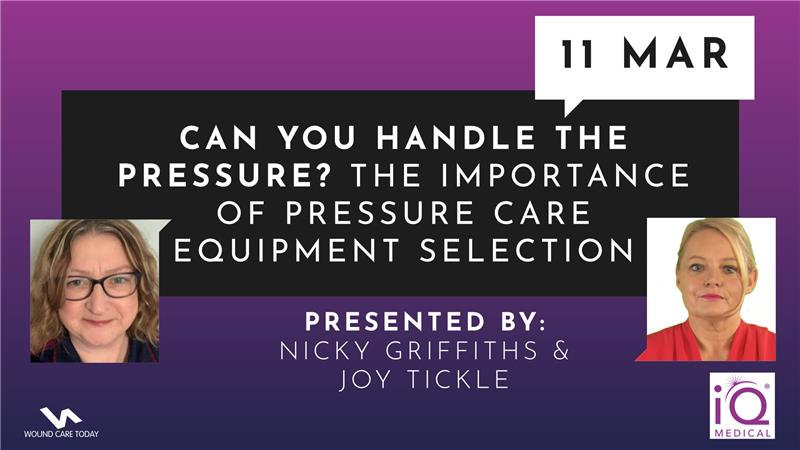 Can you handle the pressure? The importance of pressure care equipment selection