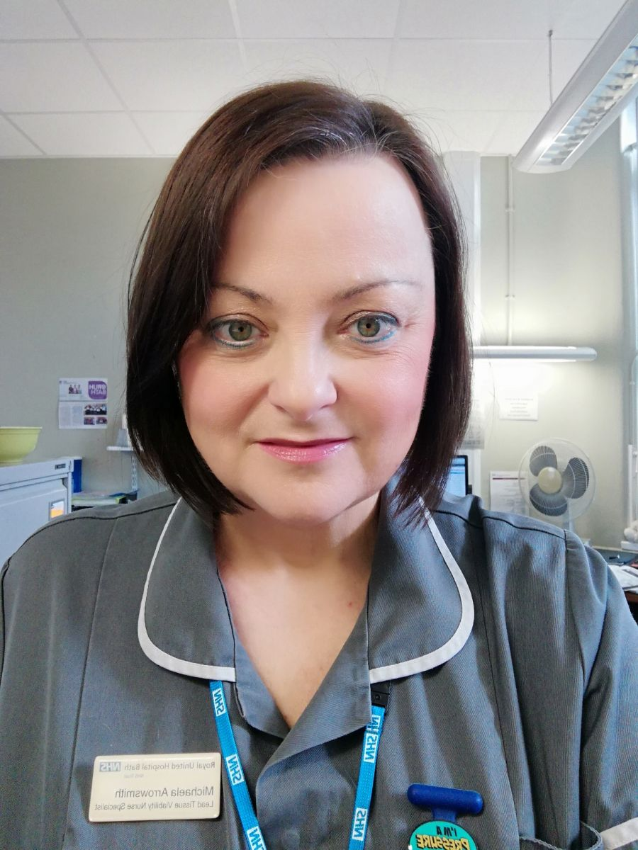 Michaela Arrowsmith, Lead Nurse Tissue Viability