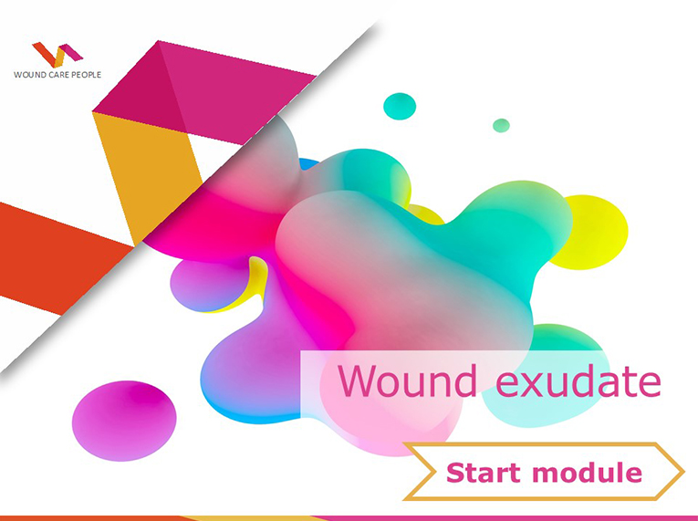 Wound exudate e-learning module
