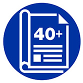 40 plus publications